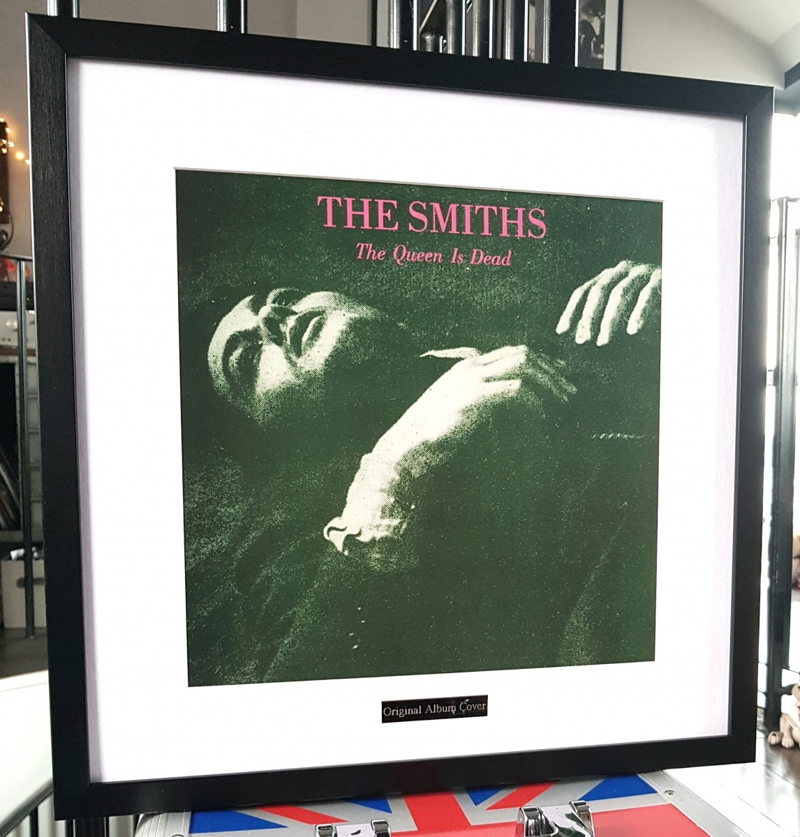 The Smiths Framed Original Album Cover-The Queen Is Dead